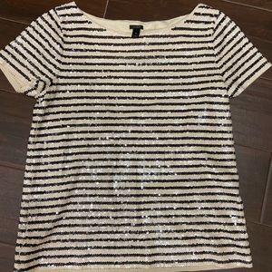 J.CREW XS Sequin shirt